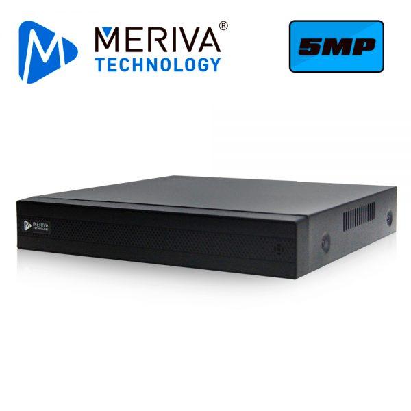 DVR H.265 6 CANALES 5MP HD PENTAHIBRIDO MERIVA TECHNOLOGY MSDV-5104 / 4CH BNC / 2CH IP / SALIDA BNC+VGA+HDMI SIMULTANEA / P2P-CLOUD N9000. TECNOLOGIAS