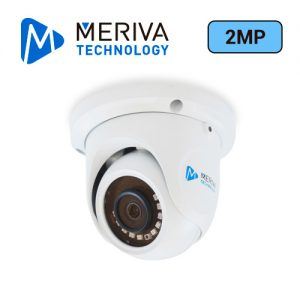 CAMARA AHD / TVI / CVI / SD / 1080P - 2MP / DOMO MERIVA TECHNOLOGY MBASHD3202 / IP66 / 20M IR / 2.8MM / COC / 12 VDC / METALICA