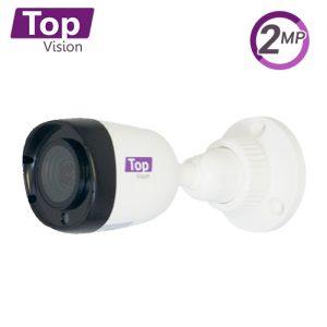 CAMARA BULLET TOPVISION TCB200 / AHD / TVI / CVI / SD / 2MP-1080P / 2.8MM / 20M IR / IP66 / PLASTICA / 12VDC