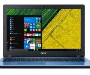 Computadora Portátil Marca ACER A315-51-50CK, Intel Core i5-7200U, 6 GB, 15.6 pulgadas, Intel® HD Graphics 620, Windows 10 Home