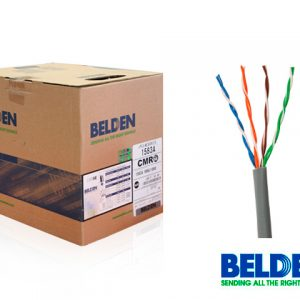 CABLE UTP CAT5E BELDEN 1583A 008U1000 GRIS 24AWG