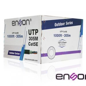 CABLE UTP CAT5E ENSON 13151B305 NEGRO PRO-II EXTERIOR 305MT