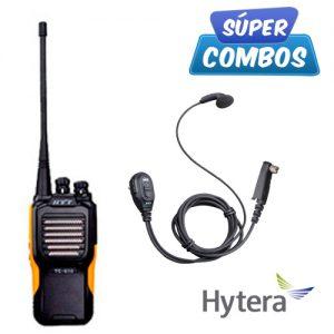 SUPER COMBO HYTERA 1 TC610P-UHF + 1 ESN06 DE REGALO