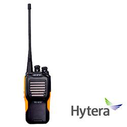RADIO ANALOGICO PORTATIL HYTERA TC610P-UHF 16CH 4W 450-470 MHZ CON PROTECCION IP66
