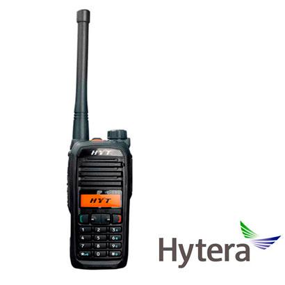 RADIO ANALOGICO PORTATIL HYTERA TC580 UHF 256CH 4W 400-470 MHZ CON DISPLAY SEÑALIZACION DTMF