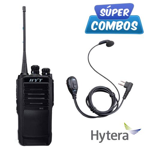 SUPER COMBO HYTERA 1 TC508-VHF + 1 ESM08 DE REGALO