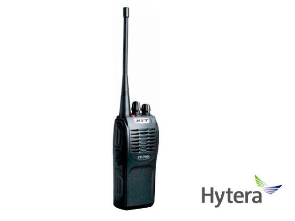 RADIO ANALOGICO PORTATIL HYTERA TC700-UHF 16CH 4W 400-470 MHZ SEÑALIZACION HDC1200/2400 DTMF