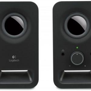 Bocina LOGITECH Z150, 3 W, Negro, Alámbrico, 3,5 mm