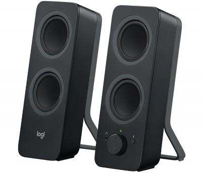 Bocinas LOGITECH Speakers Z207, 2.0, 5 W, Negro
