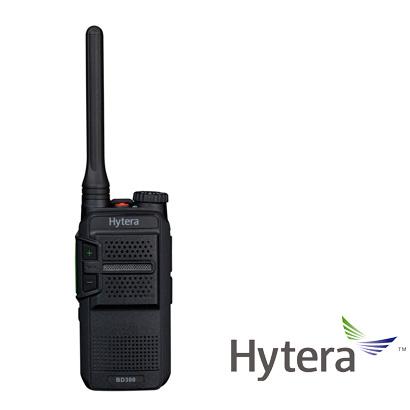 RADIO DIGITAL PORTATIL LINEA EMPRESARIAL HYTERA BD302 2W 48CH UHF 400-470 MHZ
