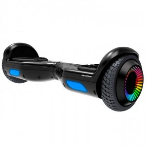 HOVERBOARD ELECTRICO SWAGTRON TWIST REMIX T881 LED BLACK