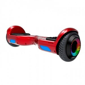 HOVERBOARD ELECTRICO SWAGTRON TWIST REMIX T881 LED RED