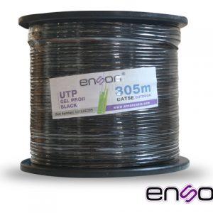 CABLE UTP CAT5E ENSON 13152B305 NEGRO PRO-II C/GEL EXTERIOR