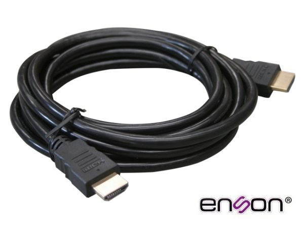 CABLE VIDEO HDMI ENSON ENS-HDMICB5M 5MT MACHO-MACHO