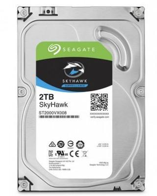 "Disco Duro SEAGATE ST2000VX008, 2000 GB, Serial ATA III, 5900 RPM, 3.5"", Videovigilancia"