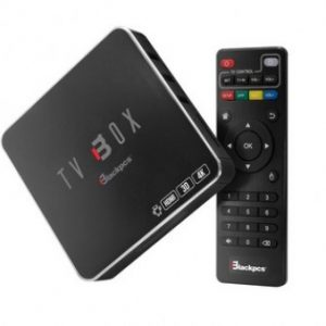 TV BOX Blackpcs EO104K-BL, Ethernet (RJ-45), WLAN, 3840 x 2160, Android 7.1, 1GB, 8GB